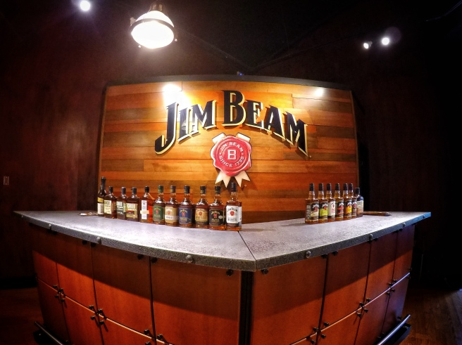 The Tasting Room At The Jim Beam Distillery