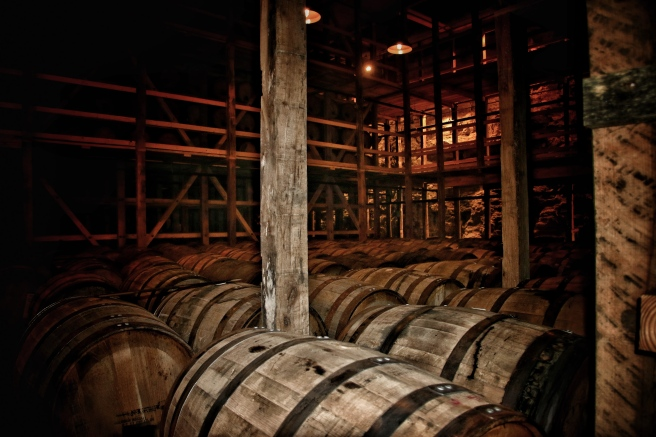 The Limestone Whiskey Cellar At Makers Mark
